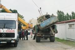 grutage du bateau en 2008