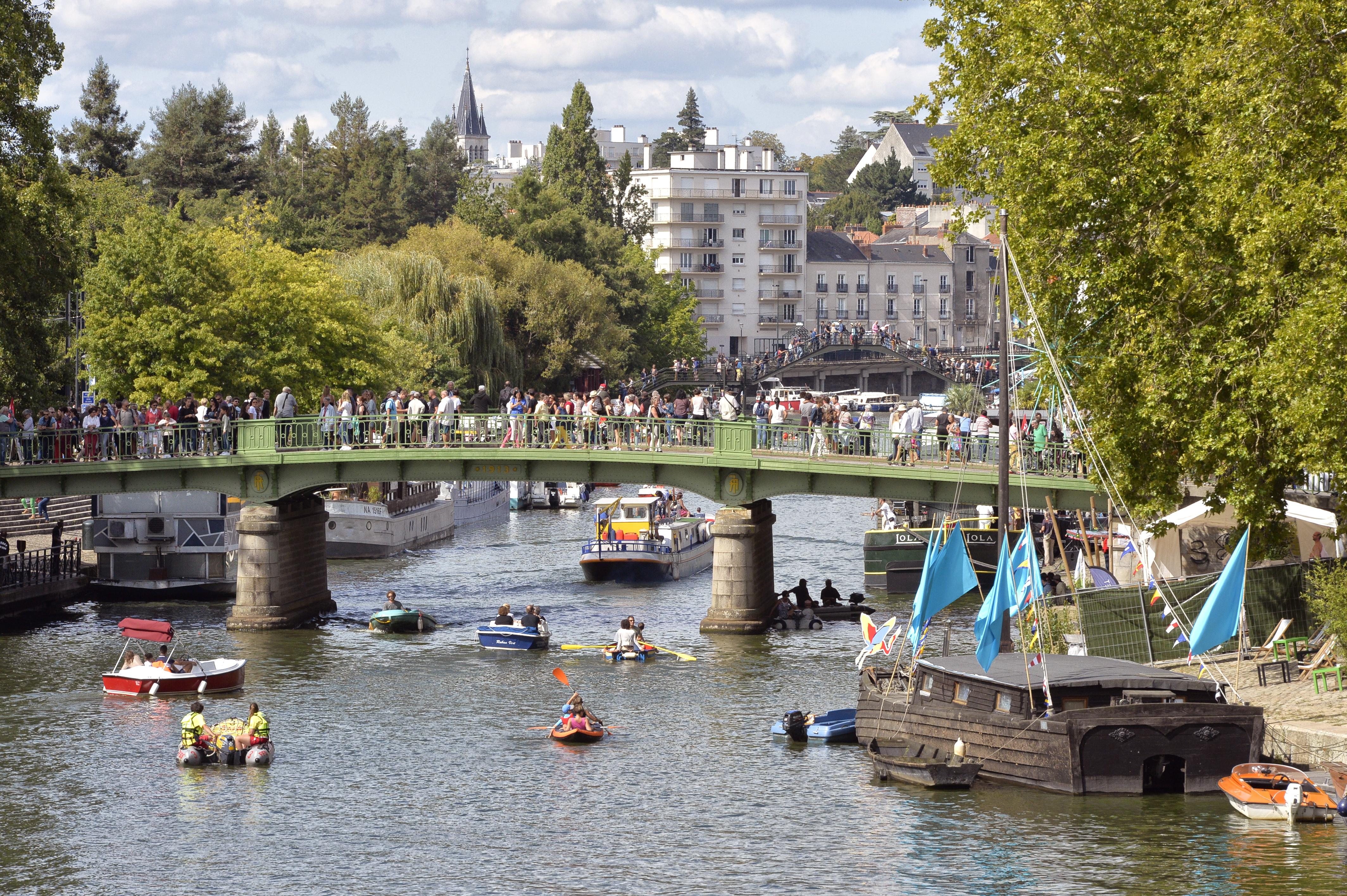 Les Rendez-vous de l'Erdre festival jazz musique et belle plaisance rivière pont Saint-Mihiel bassin Ceineray bateau patrimoine fluvial culture patrimoine  *** Local Caption *** bestrd