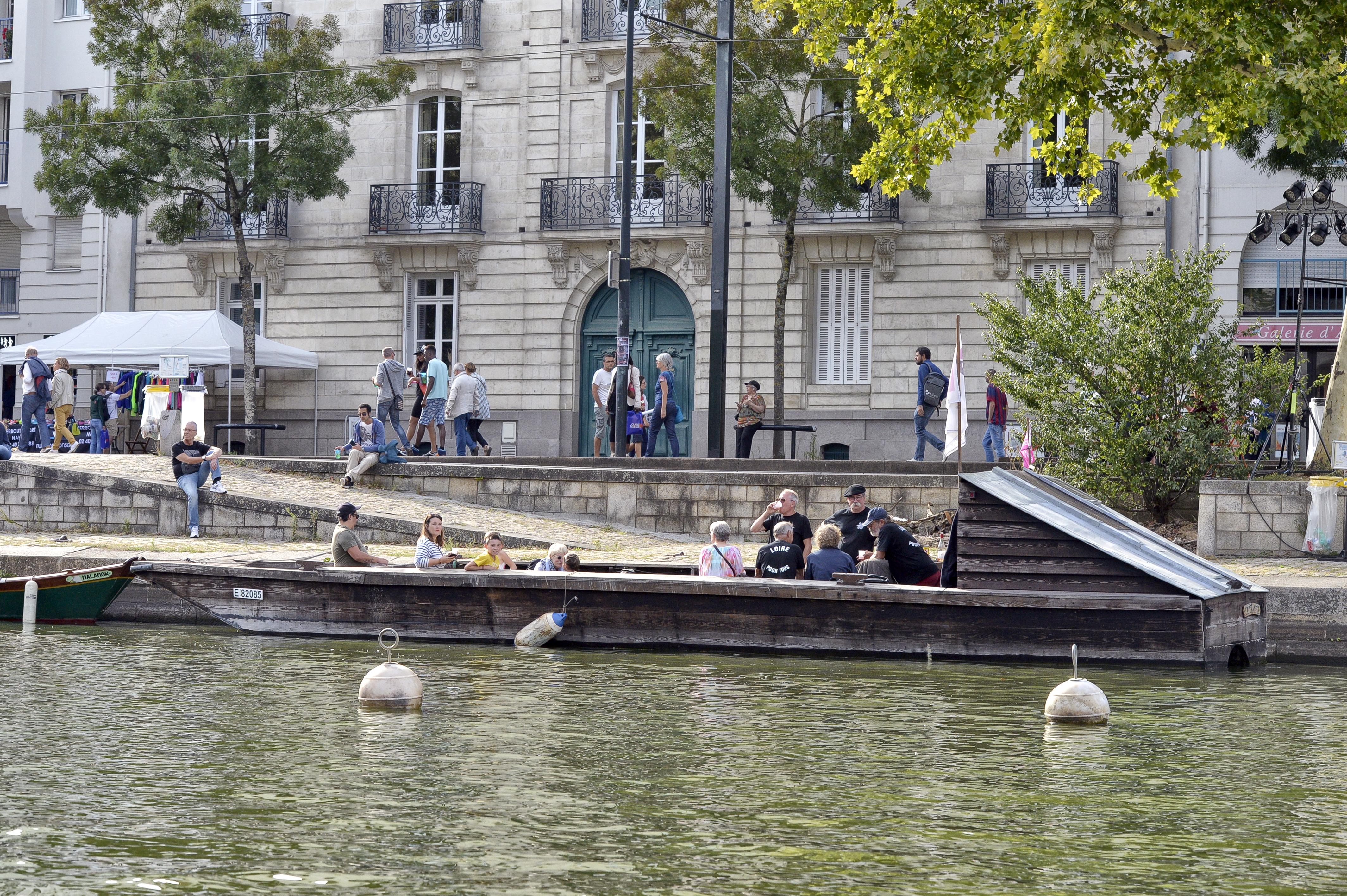 Les Rendez-vous de l'Erdre festival jazz musique et belle plaisance rivière Association Loire pour tous culture patrimoine